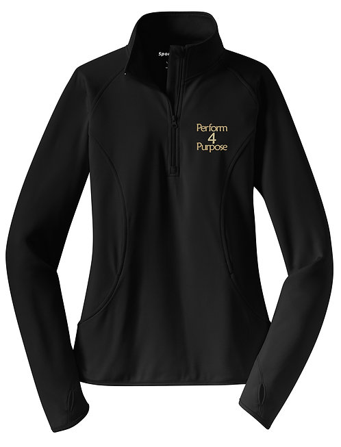 Perform 4 Purpose Ladies 1/2 Zip Wicking Pullover LST850