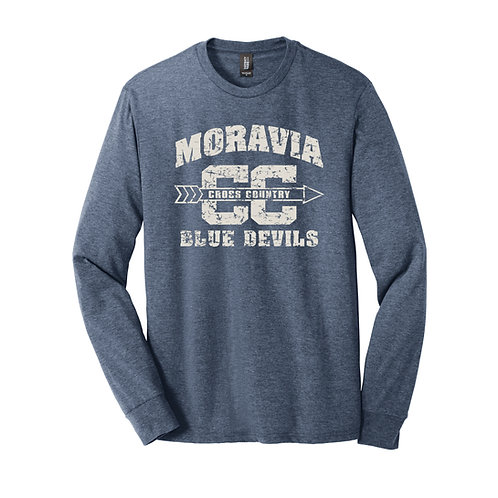 Moravia Cross Country Adult Perfect Tri Long Sleeve Tee DM132