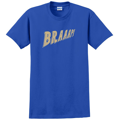Outlet - 'BRAAAP!' Adult T-shirt