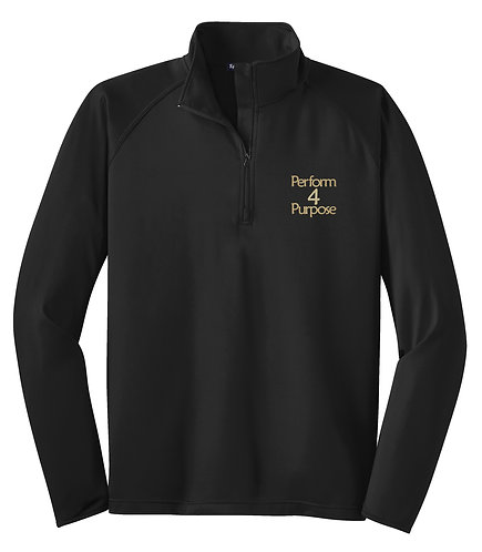Perform 4 Purpose Adult 1/2 Zip Wicking Pullover ST850
