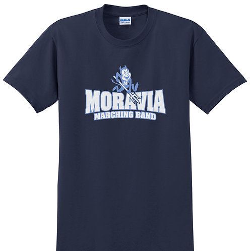Moravia Marching Band Short Sleeve Tee