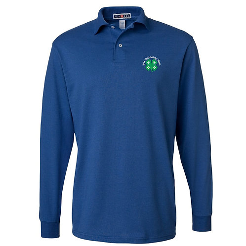 4-H GGLead Long-Sleeve Jersey Polo 437ML