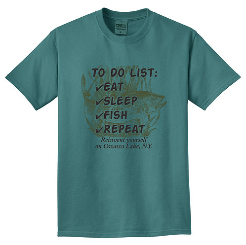To Do List Adult T-Shirt