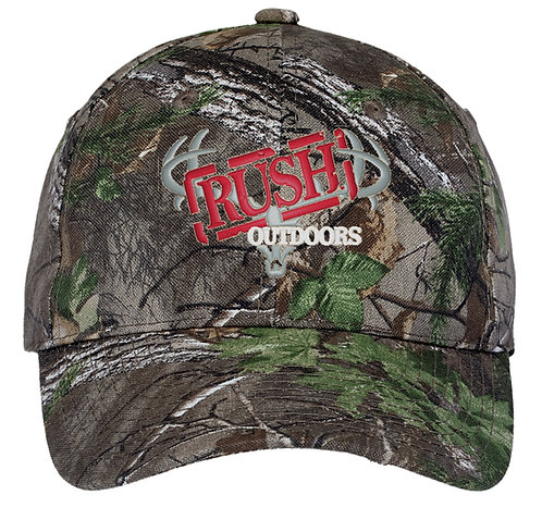 Rush Outdoors Pro Camouflage Series Cap C855