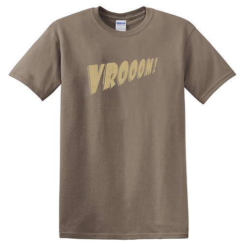 Outlet - 'VROOM!' Adult T-shirt