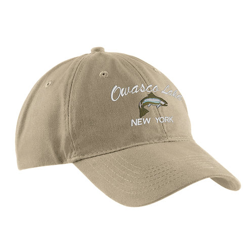 Owasco Lake Trout Cap