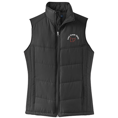 Lost Creek Port Authority Ladies Puffy Vest L709