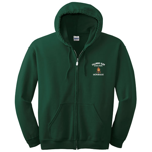 Fillmore Glen Full Zip Hooded Sweatshirt