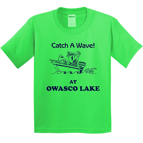 Catch a Wave! At Owasco Lake Youth T-Shirt
