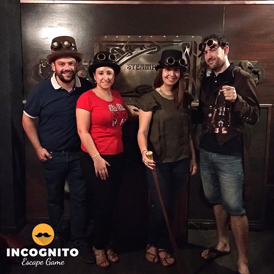 89. Incógnito (Steampunk) (08-07-18)