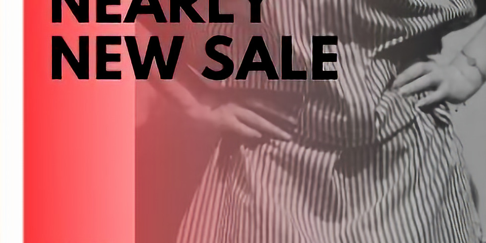 Save the Date: Nearly New Sale