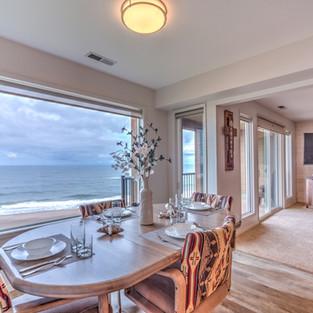Condo 37 Dining Room-Living Room View No