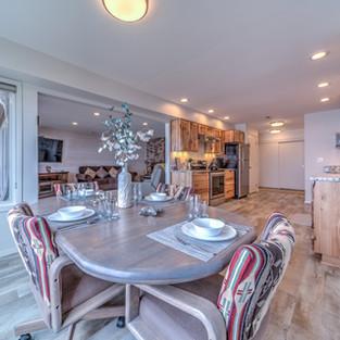 Condo 37 Dining Room-Kitchen-Living Room