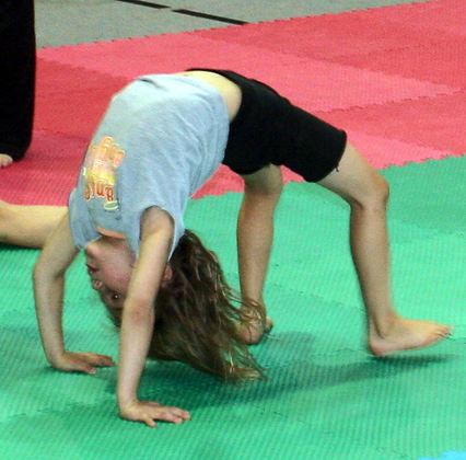 Beginner Gymnastics  Student Ages 5 to 11