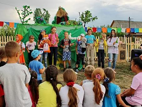 """В Шербакуле начался Фестиваль инклюзивного досуга """"Сказочное утро"""""""