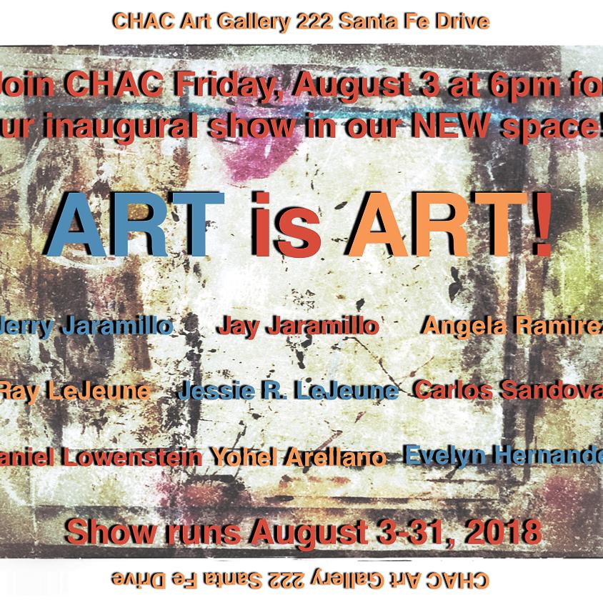 Art is Art: August