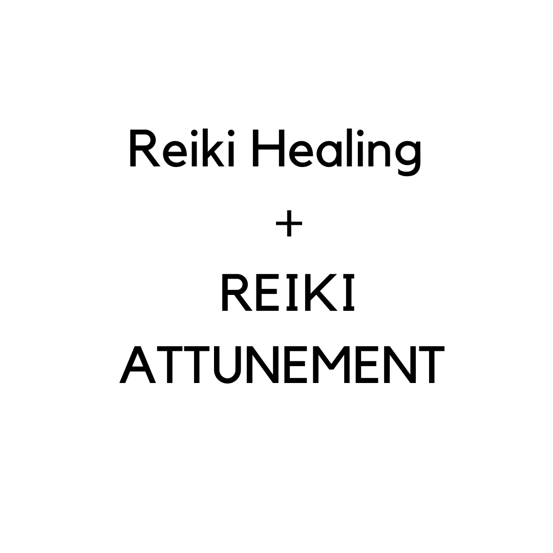 GET REIKI + LEARN REIKI