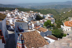 Panorama from roof terrace
