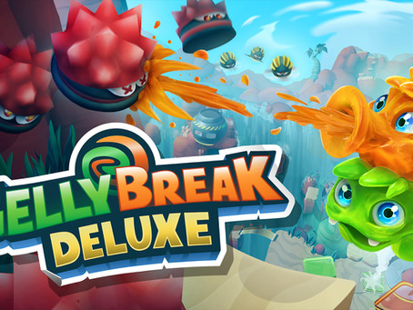 """The Squishy Adventures of Gel and Lee Begins - """"Gelly Break Deluxe"""" Available Now on PC and Consoles"""