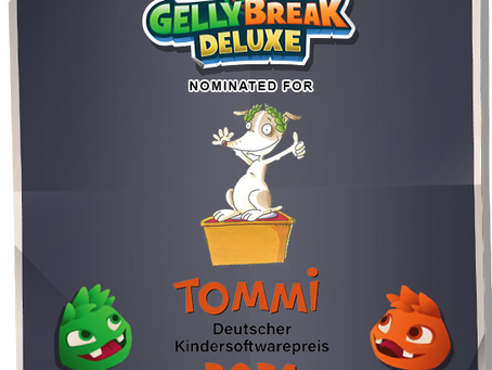 Two nominations for Gelly Break Deluxe