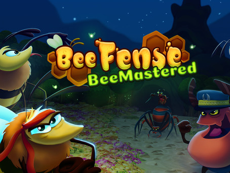 Save the Bees! Tower Defense Game BeeFense BeeMastered Releases on June 24th!