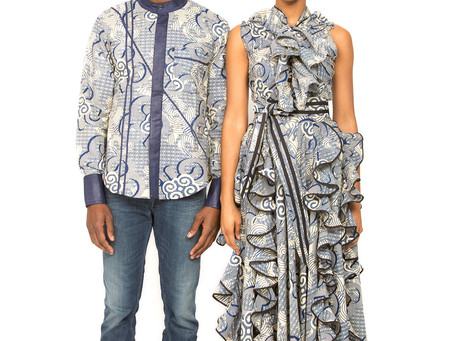 Robe portefeuille made by Mansaya