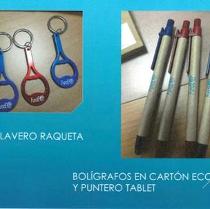 CLAUER OBRIDOR D'ALUMINI Producte número 13: 1 euro BOLÍGRAF PUNTER DE CARTRÓ RECICLAT Producte número 3: 1'50 euros
