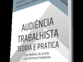Lançamento de obra jurídica dos sócios do escritório - Audiência trabalhista Teoria e Prática.