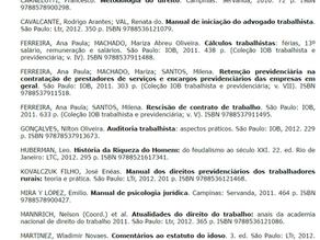 """Indicação da obra """"Manual de Iniciação..."""" pelo TRT 4ª Região"""