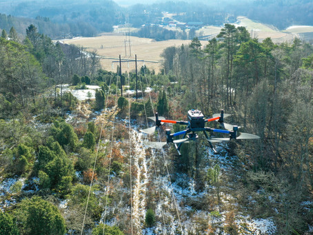 Power line inspections - the past, present and future