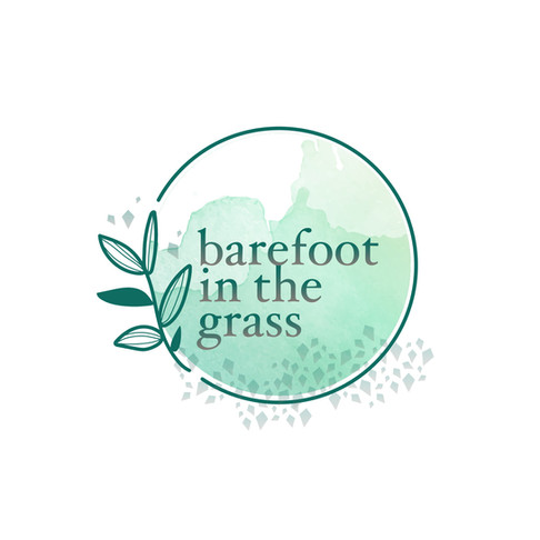 Barefoot in the Grass Logo