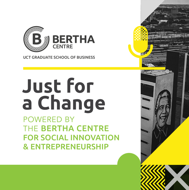 Bertha Centre Podcast Graphics