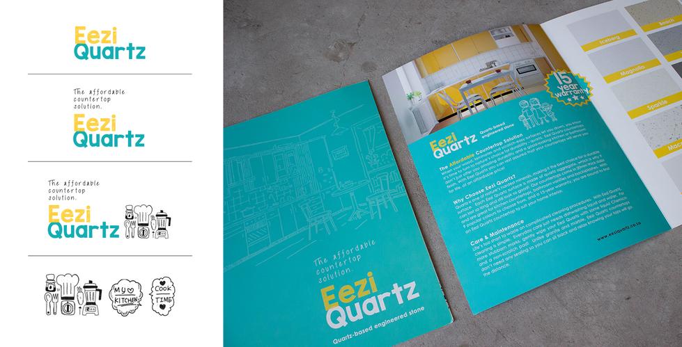Eezi Quartz Branding