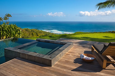 infinity pool, jacuzzi, design concepts hawaii