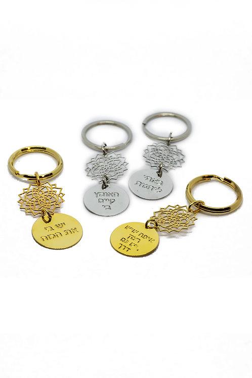 מחזיק מפתחות מנדלה