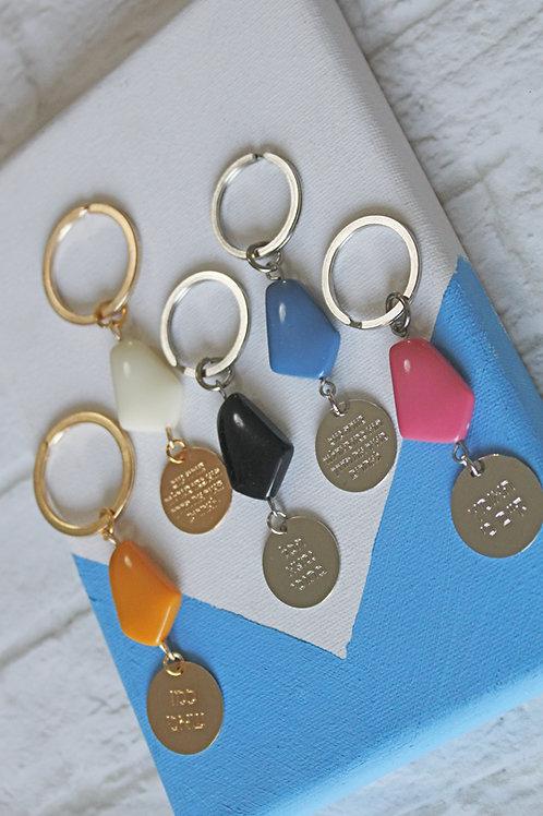 מחזיק מפתחות גאומטרי