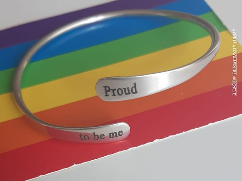 צמיד  proud to be me