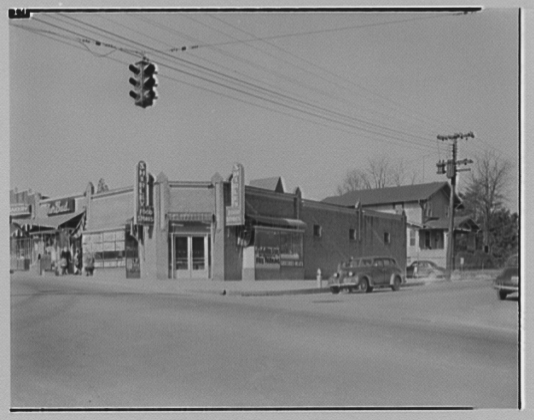 Griffith Consumers Co. Shirley Food Store, Glebe Rd. and Lee Highway 1949_library of congress