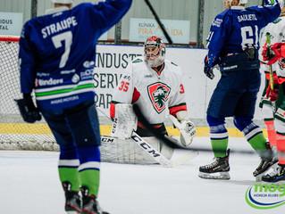 Mogo/LSPA saspringtā spēlē piekāpjas Liepājas hokejistiem
