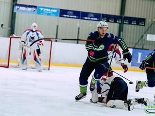 Mogo aizraujošā mačā apspēlē Zemgale/LLU hokejistus