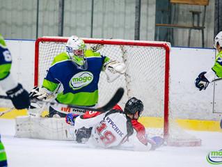 HK Mogo arī otrajā Latvijas čempionāta pusfināla spēlē piekāpjas HK Zemgale/LLU hokejistiem