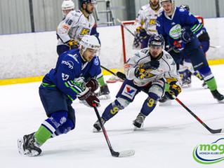 Mogo bullīšu sērijā piekāpjas Kurbads hokejistiem