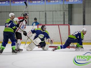 HK Mogo Latvijas čempionāta spēlē pēcspēles metienu sērijā ar 3:2 uzvar HK Zemgale/LLU hokejistus