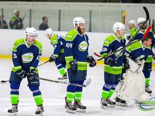 HK Mogo Latvijas čempionāta spēlēar 7:5 uzvar HS Rīga hokejistus