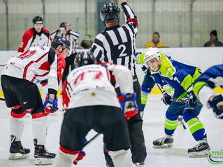 HK Mogo Latvijas čempionāta piektajā pusfināla spēlē ar 3:4 piekāpās HK Zemgale/LLU hokejistiem