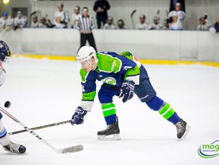 HK Mogo Latvijas čempionāta spēlē ar 10:4 uzvar HS Rīga hokejistus