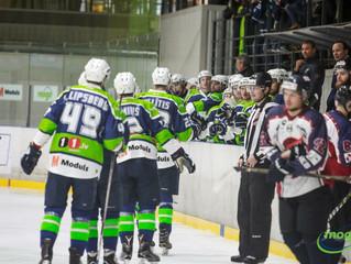 HK Mogo Latvijas čempionāta spēlē ar 6:1 uzvar HK Prizma hokejistus