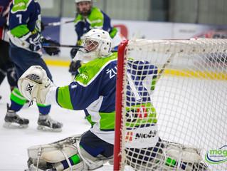 HK Mogo Latvijas čempionāta spēlē ar 10:1 pārliecinoši uzvar HK Prizma hokejistus