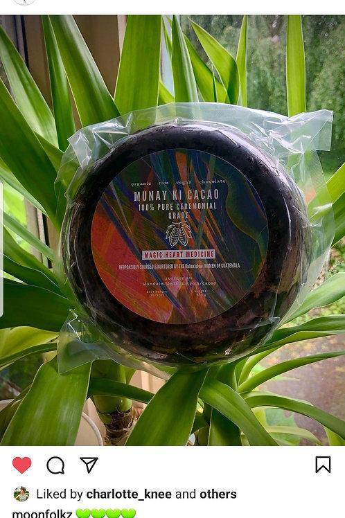 1/2 pound Ceremonial Cacao Block - 100% Organic 1/2 pound