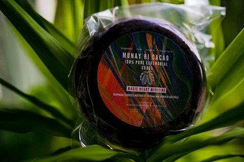 Ruku'x'Ulew GUATEMALAN Ceremonial Cacao Block - 100% Organic (454 g)